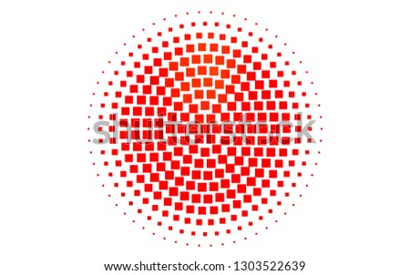 Light Red vector backdrop with rectangles, squares. Rectangles on abstract background with colorful gradient. Modern template for your landing page.