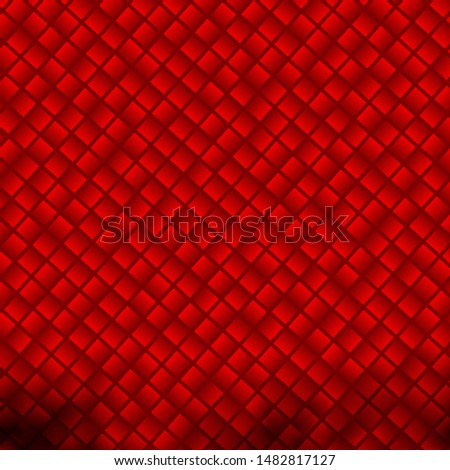 Light Red vector background with rectangles. Rectangles with colorful gradient on abstract background. Pattern for commercials, ads.