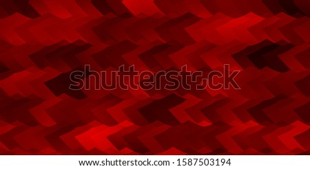 Light Red vector background with set of hexagons. Colorful hexagons on blur backdrop. Pattern for texture of wallpapers.