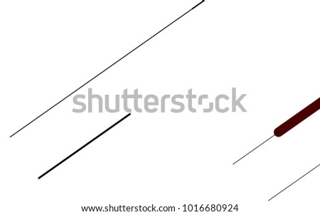 Light Red vector background with straight lines. Glitter abstract illustration with colored sticks. The pattern can be used as ads, poster, banner for medicine. #1016680924