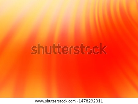 Light Red vector blurred shine abstract pattern. Shining colorful illustration in a Brand new style. The template can be used for your brand book.