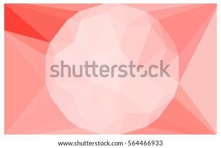 light red vector diamond