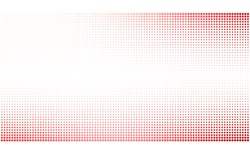 Light Red vector modern geometrical circle abstract background. Dotted texture template. Geometric pattern in halftone style with gradient.