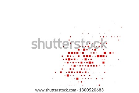 Light Red vector template with crystals, rectangles. Rectangles on abstract background with colorful gradient. Pattern can be used for websites.