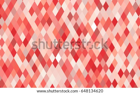 light red vector triangle