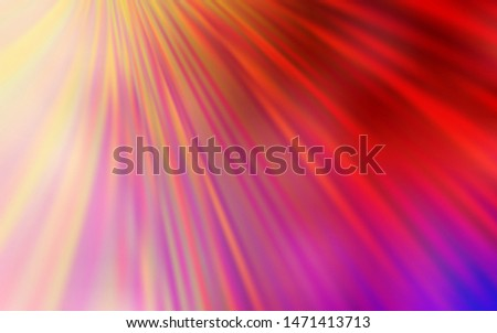 Light Red, Yellow vector modern elegant backdrop. An elegant bright illustration with gradient. Completely new design for your business.