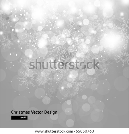 light silver abstract christmas
