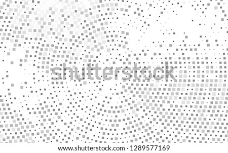 Light Silver, Gray vector backdrop with rectangles, squares. Rectangles on abstract background with colorful gradient. Best design for your ad, poster, banner.