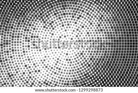 Light Silver, Gray vector backdrop with rectangles, squares. Rectangles on abstract background with colorful gradient. Smart design for your business advert.