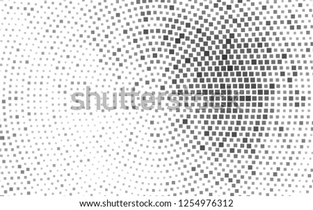 Light Silver, Gray vector background with rectangles. Glitter abstract illustration with rectangular shapes. The template can be used as a background.
