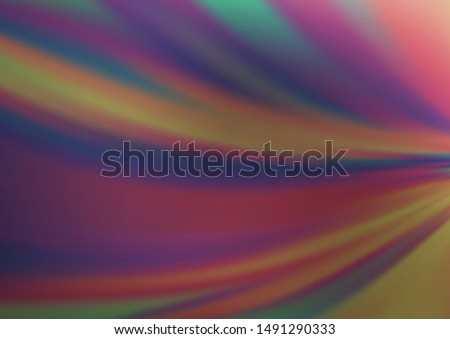 Light Silver, Gray vector blurred shine abstract background. Shining colorful illustration in a Brand new style. A completely new design for your business.