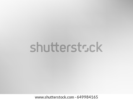 Light Silver, Gray vector blurry bright background. Shine colored background in brand-new style with gradient.