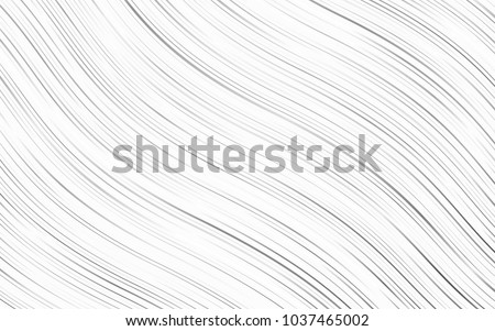 Light Silver, Gray vector pattern with lines, ovals. A completely new color illustration in marble style. Brand-new design for your ads, poster, banner.