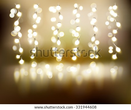 light strings vector