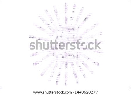 Light vector background with triangles. Triangles on abstract background with colorful gradient. Best design for poster, banner.