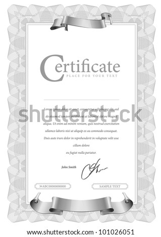Light Vector pattern that is used in currency and diplomas
