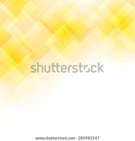 light yellow background with