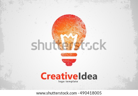 lightbulb logo template....