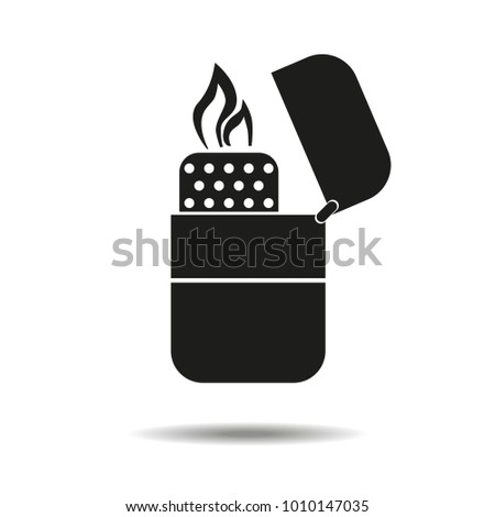 lighter icon isolated on