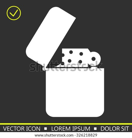 lighter vector illustration