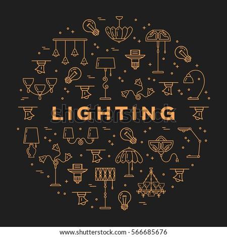 lighting store circle...