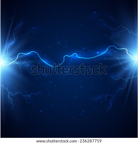 Lightning background. Vector eps10