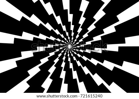 Lightning bolt - abstract geometric vector pattern - black and white, Thunder abstract background ,