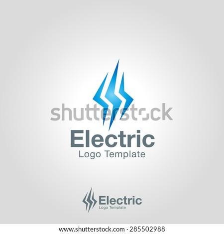 Lightning Bolt Brand Lightning Bolt Logo Template
