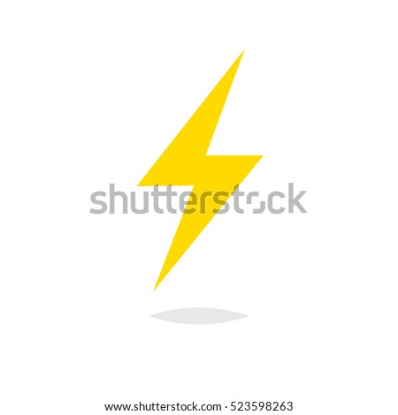 Lightning bolt vector