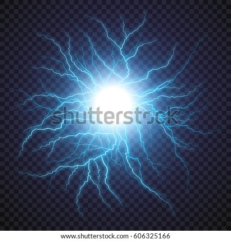 lightning flash light thunder
