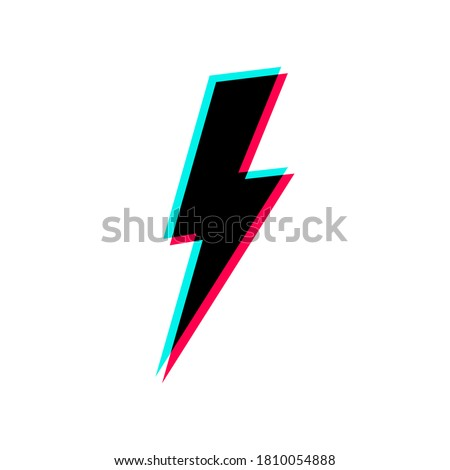 lightning icon lightning in