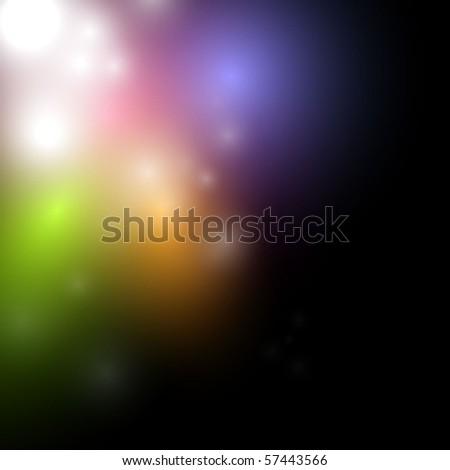 Lights background design - stock vector