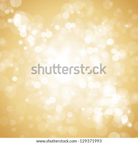 Beige Background Design Lights on Beige Background
