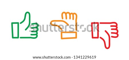 Like hand thumb up thumbs down okey okay good flat hands Contact us call us symbols Social Media network icons fun funny contact connect busines whatsapp app sign signs compliments day chat likes ok