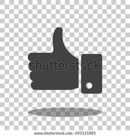 like icon vector isolated