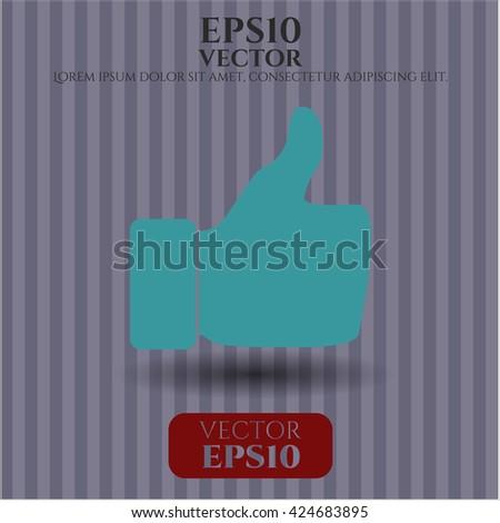 like icon vector symbol flat eps jpg app web concept website