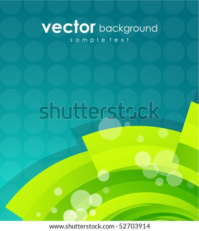 Lime shape. Vector abstract background