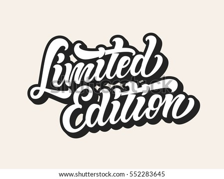 limited edition label design vector download free vector art