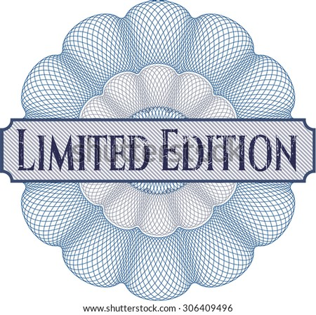 Limited Edition linear rosette