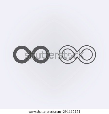 Limitless sign icon. Infinity symbol #291112121
