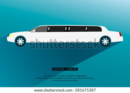 limousine icon sign modern