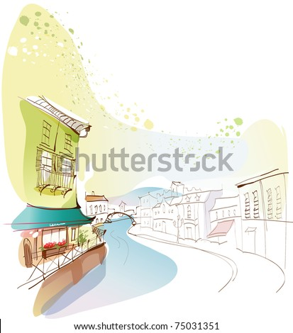 Line Art Landscape