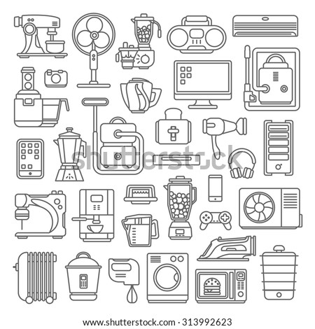 line art style flat graphical