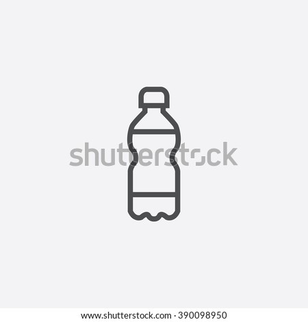 line bottle Icon