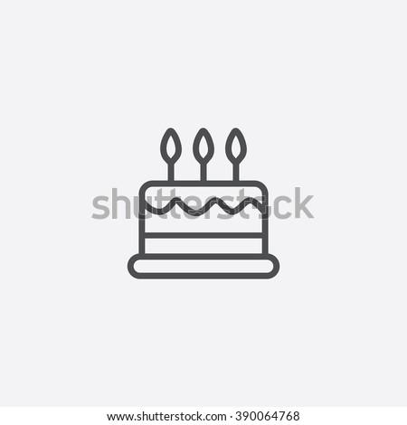 line cake Icon
