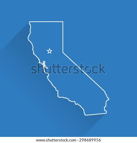 line california map
