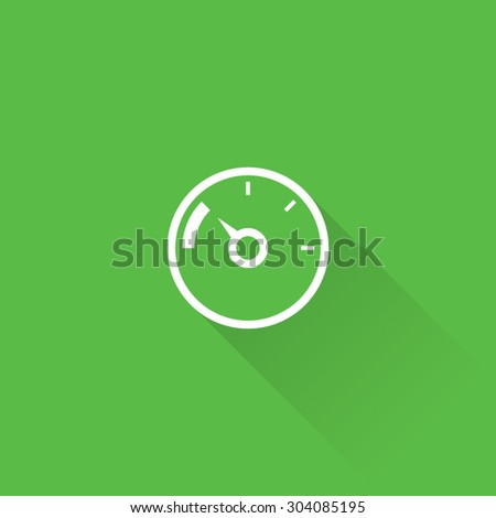 Line Calorie Counter Icon