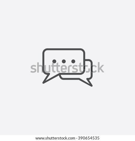line chat icon