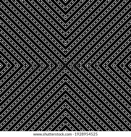 line contemporary motif pattern