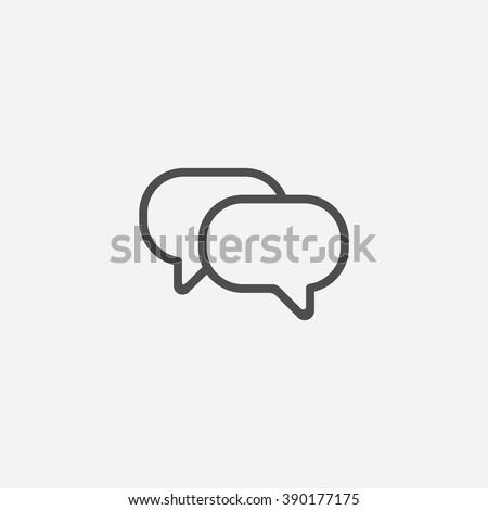 line conversation icon